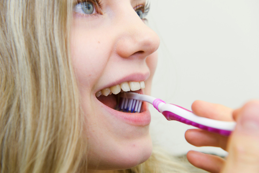 hampaiden harjaus