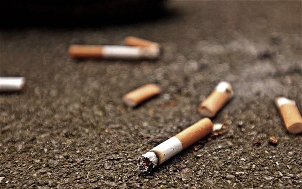 Tupakointi ja hampaat