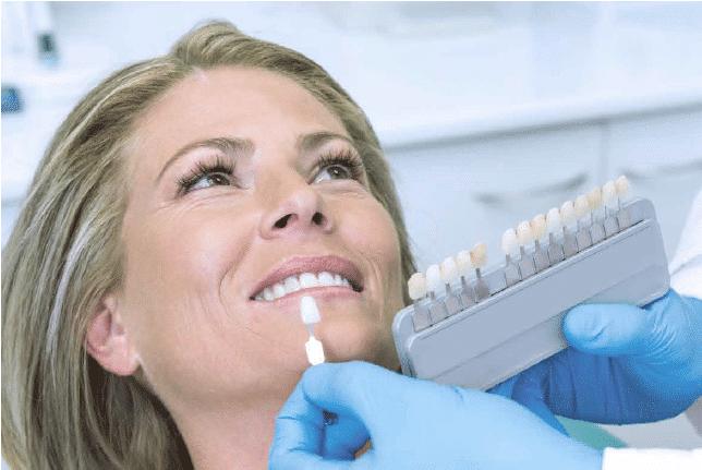 Esteettisen hammashoidon menetelmiä